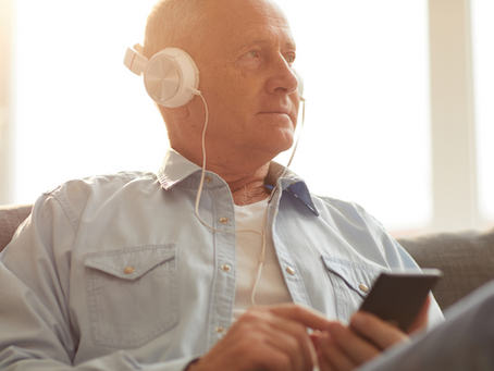 Things To Do At Home For Elderly - Audiobooks
