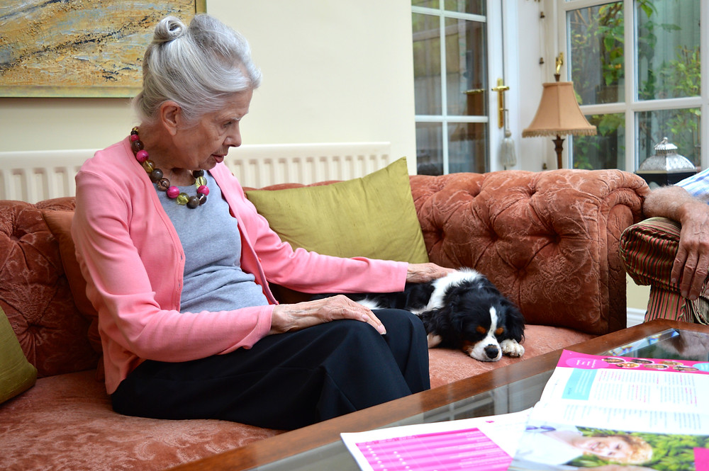 The benefits of pets for the elderly