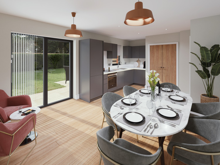 Open-Plan Kitchen/Dining