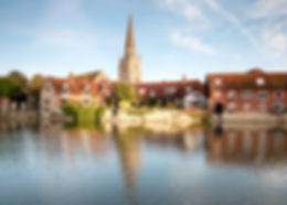 River Thames at Abingdon, Oxfordshire, E