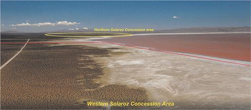 LEL Solaroz Concession area (Site A facing North)