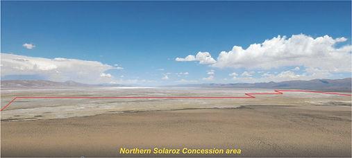 LEL Solaroz Concession area (Site B facing South)