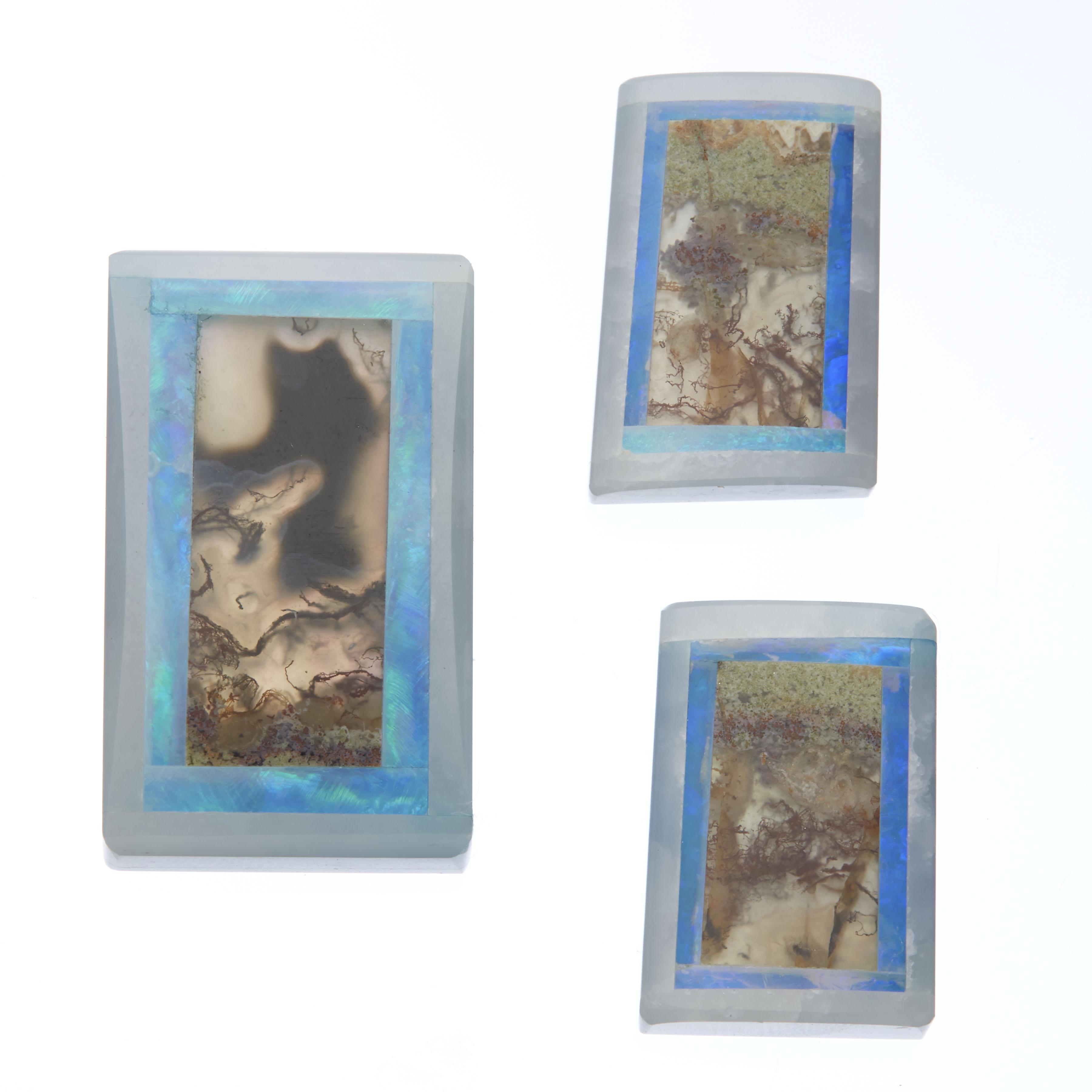 Opal Intarsia