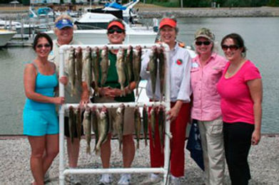 Gals Charter Fishing