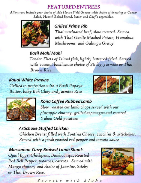 Featured Entrees