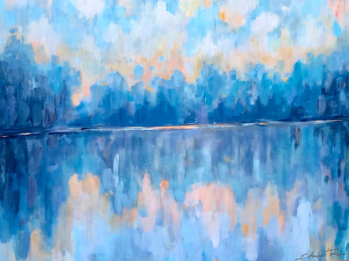 """""""Reflections"""" - 36x48"""