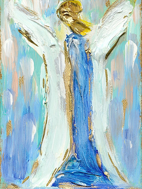 Angel - giclee on canvas