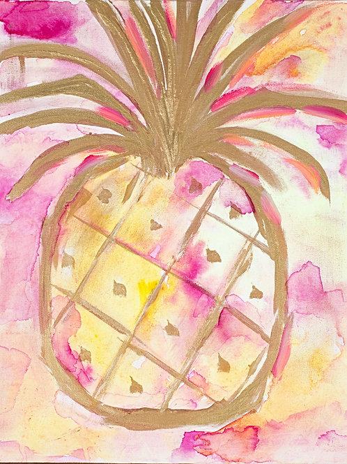 Pink Pineapple - Matte Print