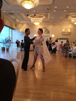 プロのダンスにうっとり