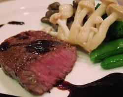特選和牛のサーロインステーキ