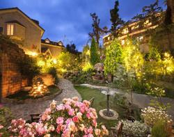ガーデン夜景