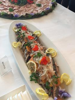 相模湾産鯖の白ワインマリネ