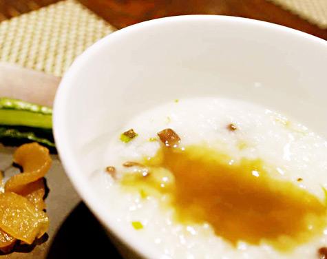 魚沼山菜粥