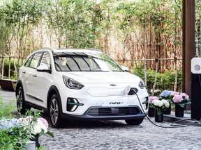 El Kia Niro EV  eléctrico ya está la venta en Corea y será presentado en Europa en el Salón de París