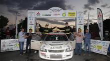 3 equipos Mitsubishi, dominaron el podio del I Rally Tierras del Teide – Isla de Tenerife