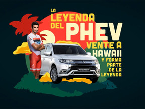 El Mitsubishi Outlander PHEV y el triatleta Javier Gómez Noya son dos leyendas con algo en común