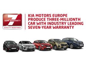 """Kia Motors Europa produce tres millones de vehículos, liderando el mercado con sus """"siete años de ga"""