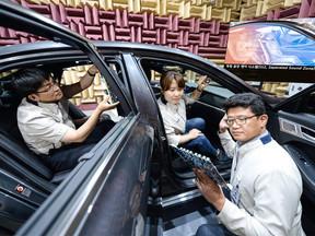 Kia Motors presenta la futura tecnología de zonas de sonido separadas: Separated Sound Zone