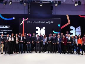"""Kia premiada como """"Gigante Global Sponsor"""" en la XXX Edición de los Premios Gigantes"""