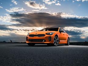 La edición especial del Stinger GTS se desvela en el Salón Internacional del Automóvil de Nueva York