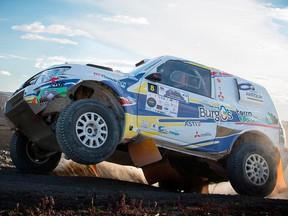 Cristina Gutiérrez, a ganar su categoría en el Dakar 2018 con su nuevo Mitsubishi Montero