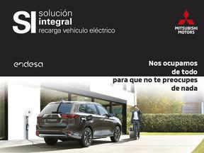Mitsubishi y Endesa firman un acuerdo para que no necesites ir a la gasolinera