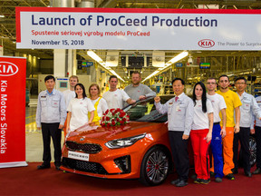 Comienza la producción del Nuevo Kia ProCeed