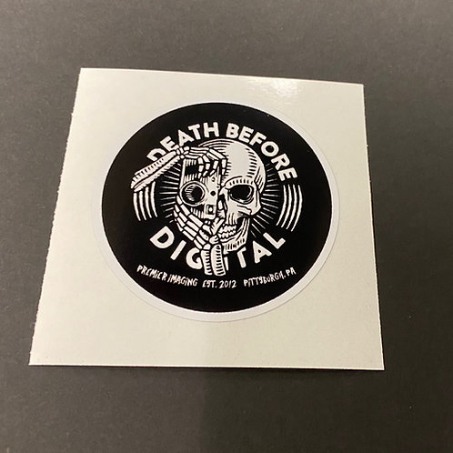 "DBD Vinyl Sticker 3"""