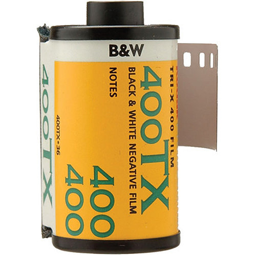 35mm Black & White Film Developing