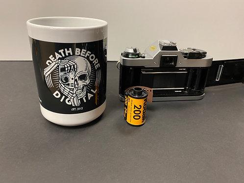 Death Before Digital - Large Mug 15 oz