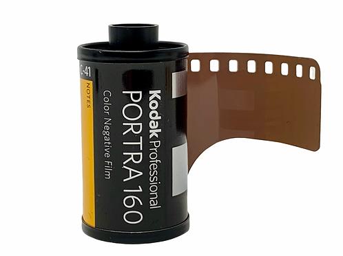 Kodak Portra 160 (Developing & Scanning Included)