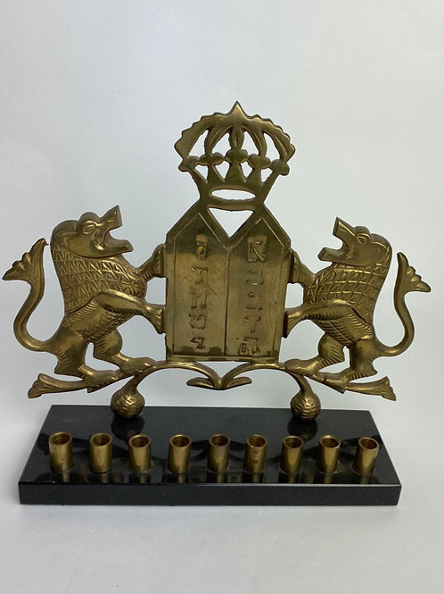 Lion Menorah