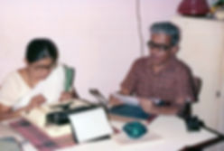 Mohan Nadkarni and Suniti