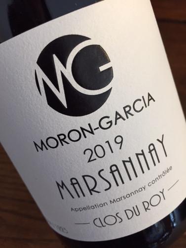 Marsannay Clos du Roy 2019 MORON GARCIA.