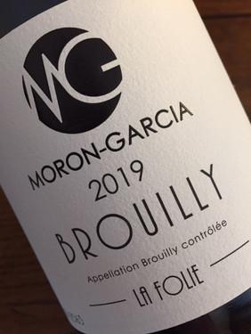 Brouilly La Folie 2019 MORON GARCIA.JPG