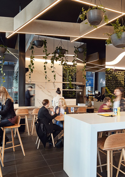 Market Street Cafe Fit Out