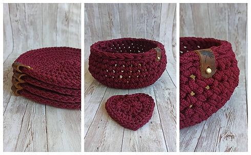 crochet basket Whistler_ByElys_handmade