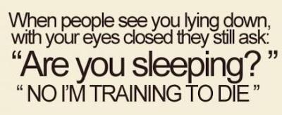 funny sleep quote