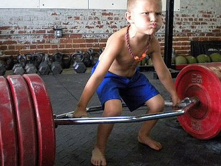 Kids Need to Workout
