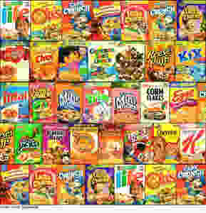 cereal killers diet