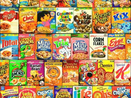 Cereal Killer and Ultra Processed Foods