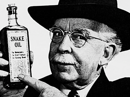 Quack Watch: How to Spot a Snake Oil Salesman a Mile Away