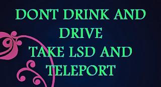 LSD Running Trip & Intervals