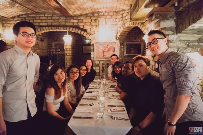Third Years' Dinner 2018