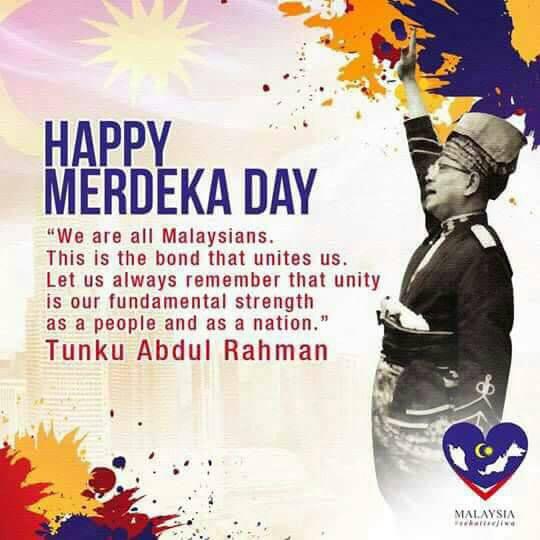 Happy Merdeka!