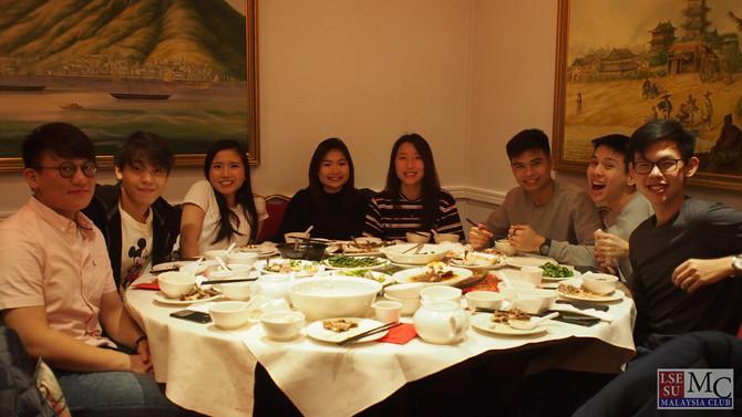 CNY dinner 2020