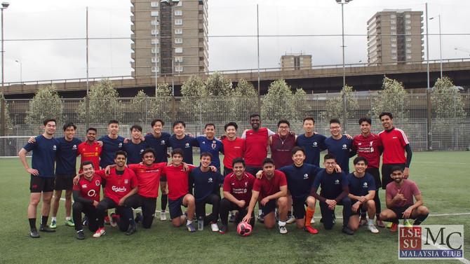 Singsoc Football Friendly 2020