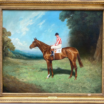 British 1920's sporting Painting