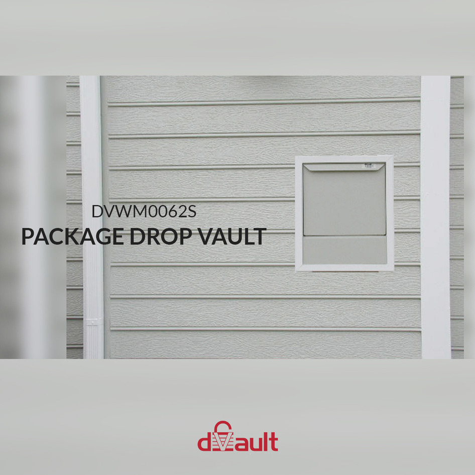 In-Wall Package Drop Vault by dVault