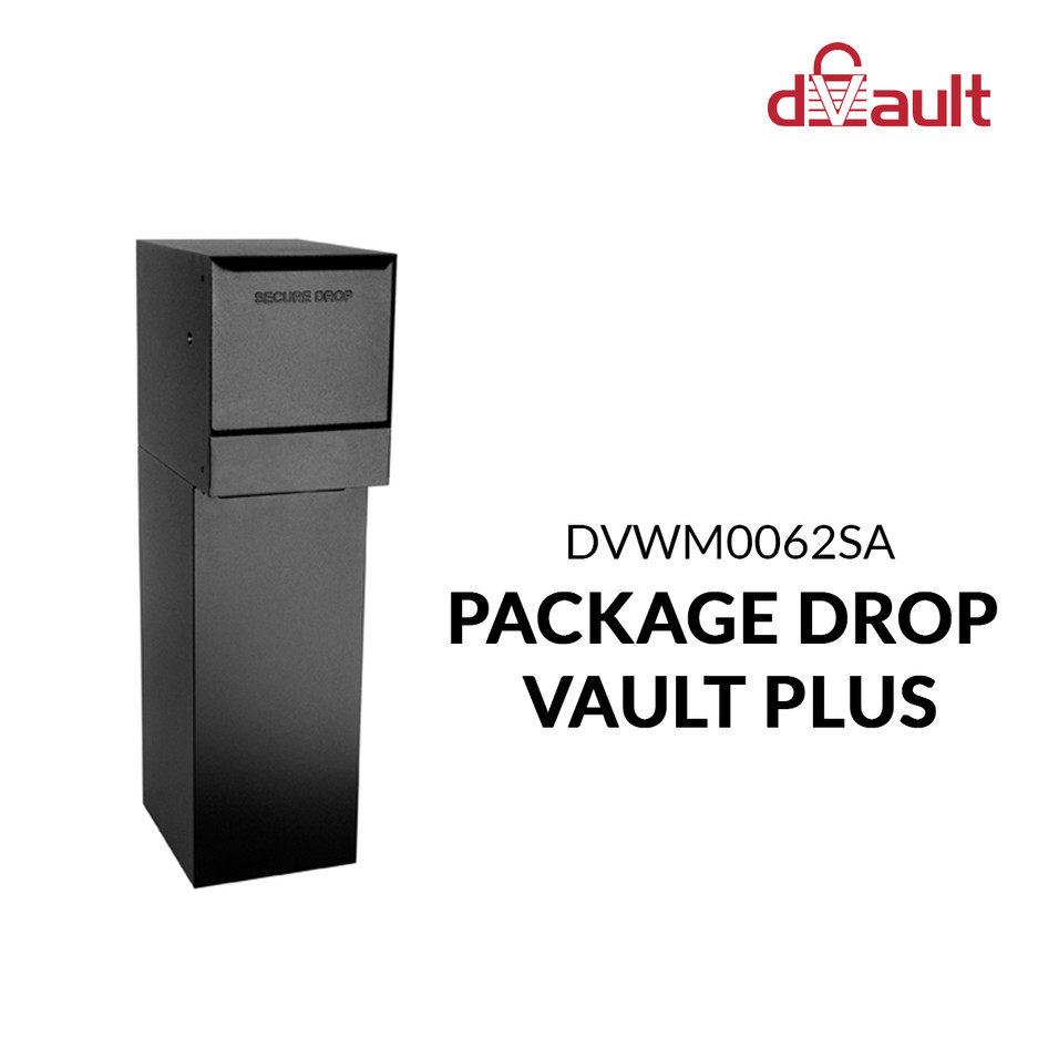 In-wall Package Drop Vault Plus by dVault
